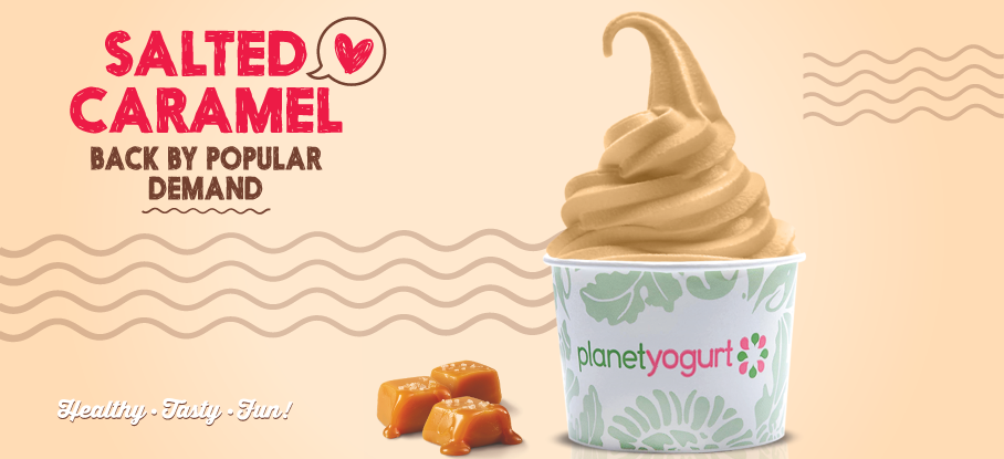 Planet Yogurt - Salted Caramel